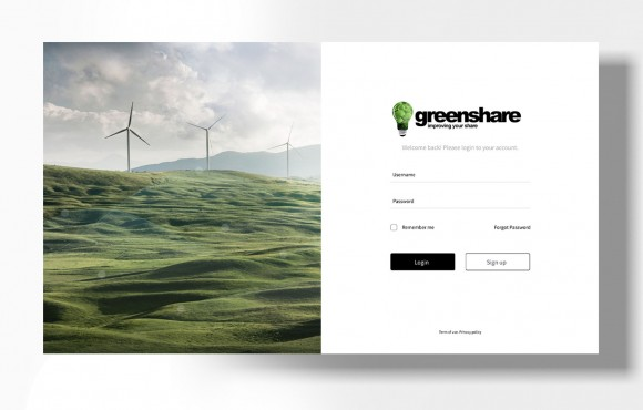 Greenshare Dashboard