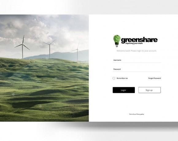 Greenshare Dashboard